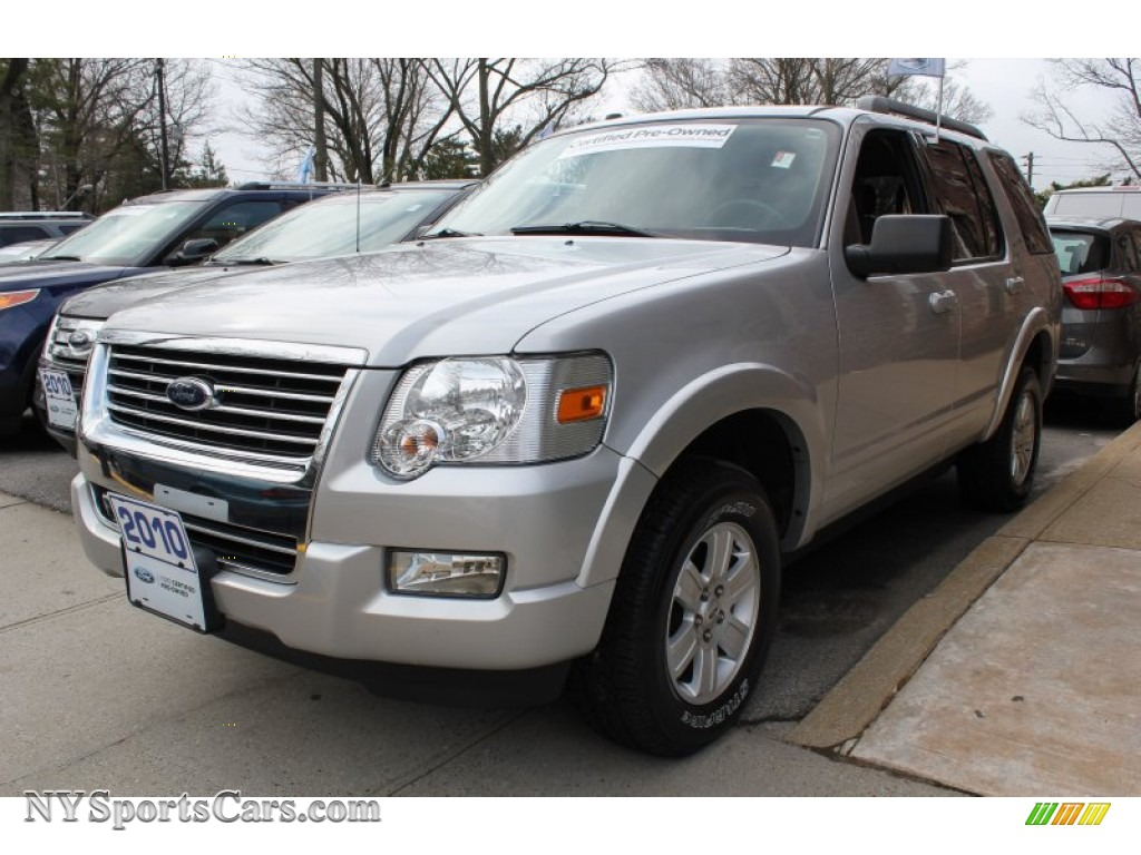 2010 ford explorer xlt 4x4 in brilliant silver metallic a80580 cars for. Black Bedroom Furniture Sets. Home Design Ideas