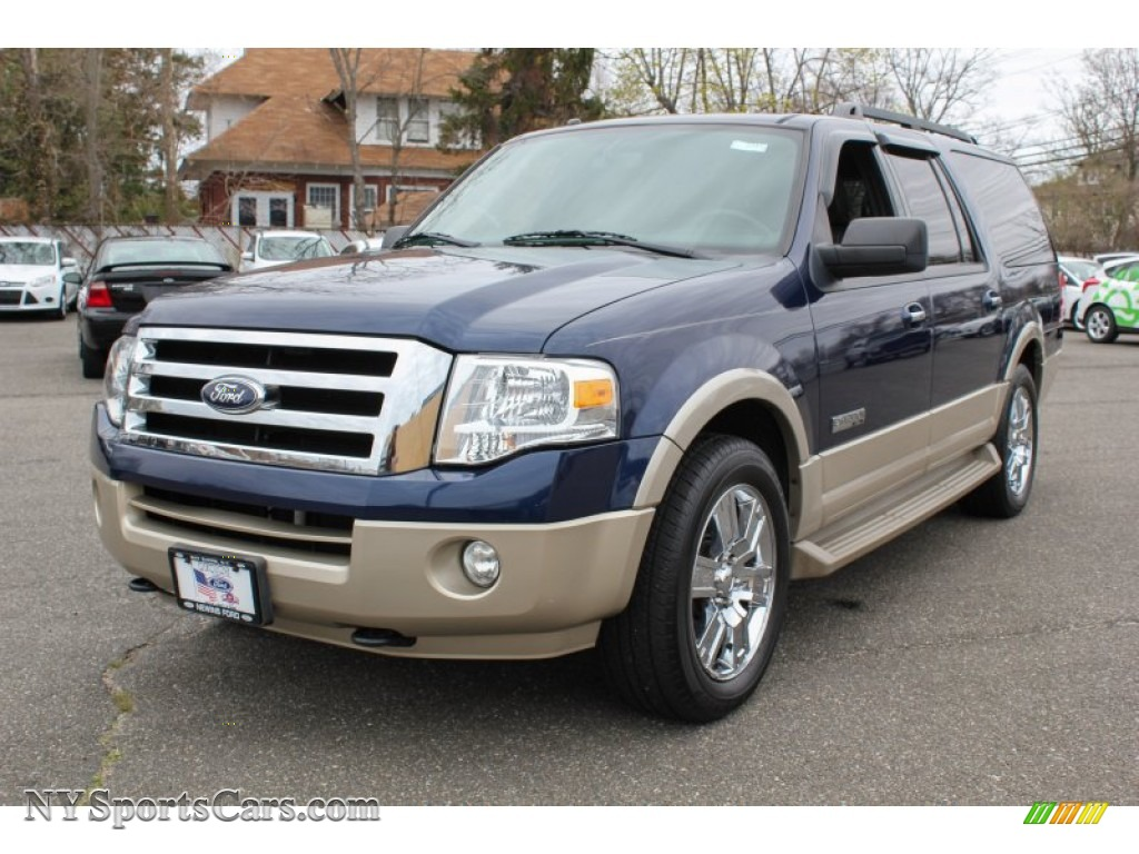 2007 ford expedition el eddie bauer 4x4 in dark blue pearl metallic a69394. Black Bedroom Furniture Sets. Home Design Ideas