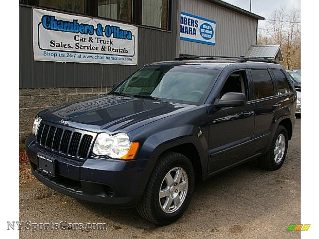 2009 jeep grand cherokee laredo 4x4 in modern blue pearl 516398 cars for. Black Bedroom Furniture Sets. Home Design Ideas