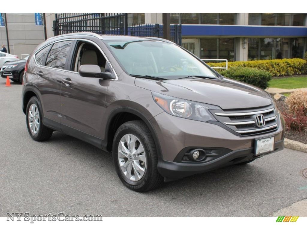 2012 Honda Cr V Ex L 4wd In Urban Titanium Metallic Photo
