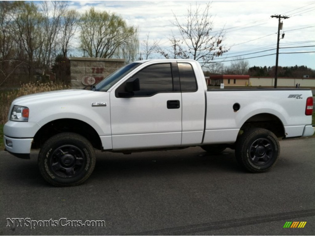 2004 ford f150 stx regular cab 4x4 in oxford white. Black Bedroom Furniture Sets. Home Design Ideas