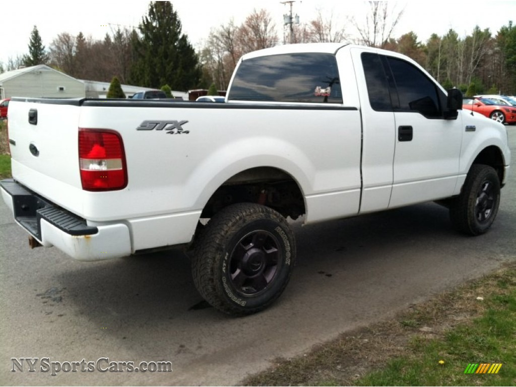 2004 ford f150 stx regular cab 4x4 in oxford white photo. Black Bedroom Furniture Sets. Home Design Ideas