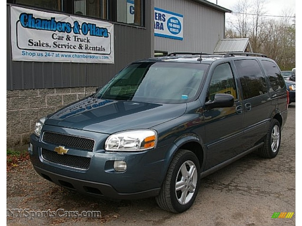 2005 Chevrolet Uplander Ls In Blue Granite Metallic 304934 Nysportscars Com Cars For Sale In New York