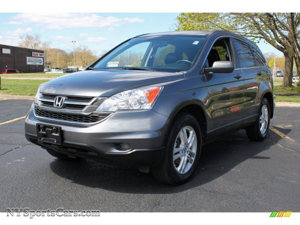 2010 Honda Cr V Ex L Awd In Polished Metal Metallic 061737 Nysportscars Com Cars For Sale