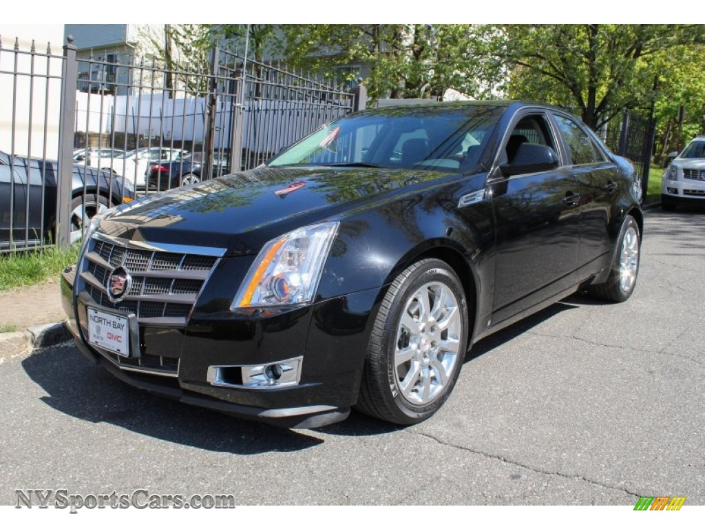 2009 cadillac cts 4 awd sedan in black raven 110922 cars for sale in new york. Black Bedroom Furniture Sets. Home Design Ideas