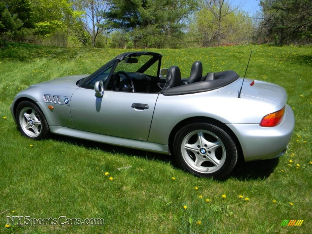 1996 bmw z3 1 9 roadster in arctic silver metallic photo 4 b72594 cars. Black Bedroom Furniture Sets. Home Design Ideas
