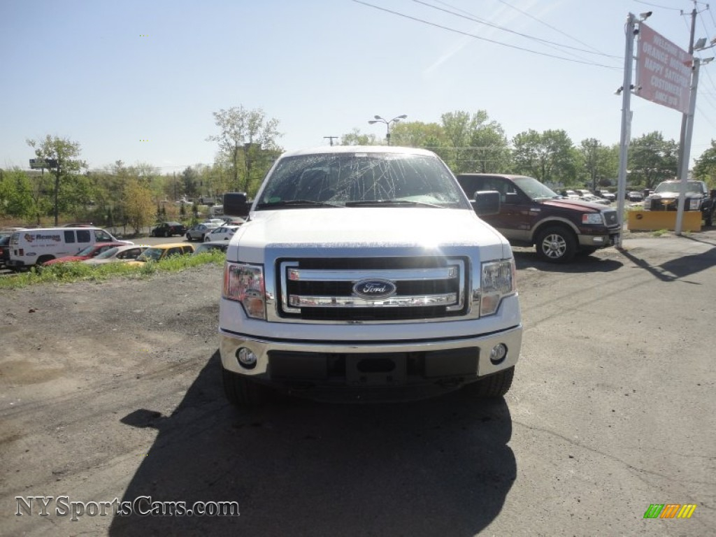 2013 Ford F150 Xlt Supercrew 4x4 In Oxford White Photo 8