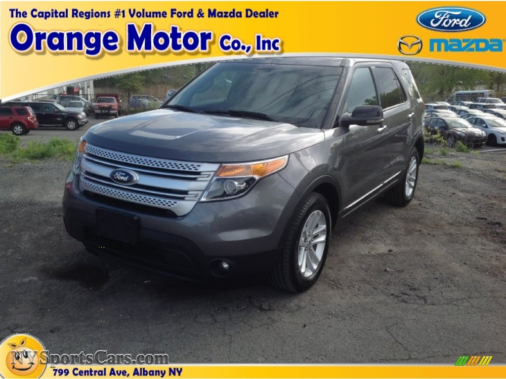 2013 ford explorer xlt 4wd in sterling gray metallic photo for Orange motors albany new york