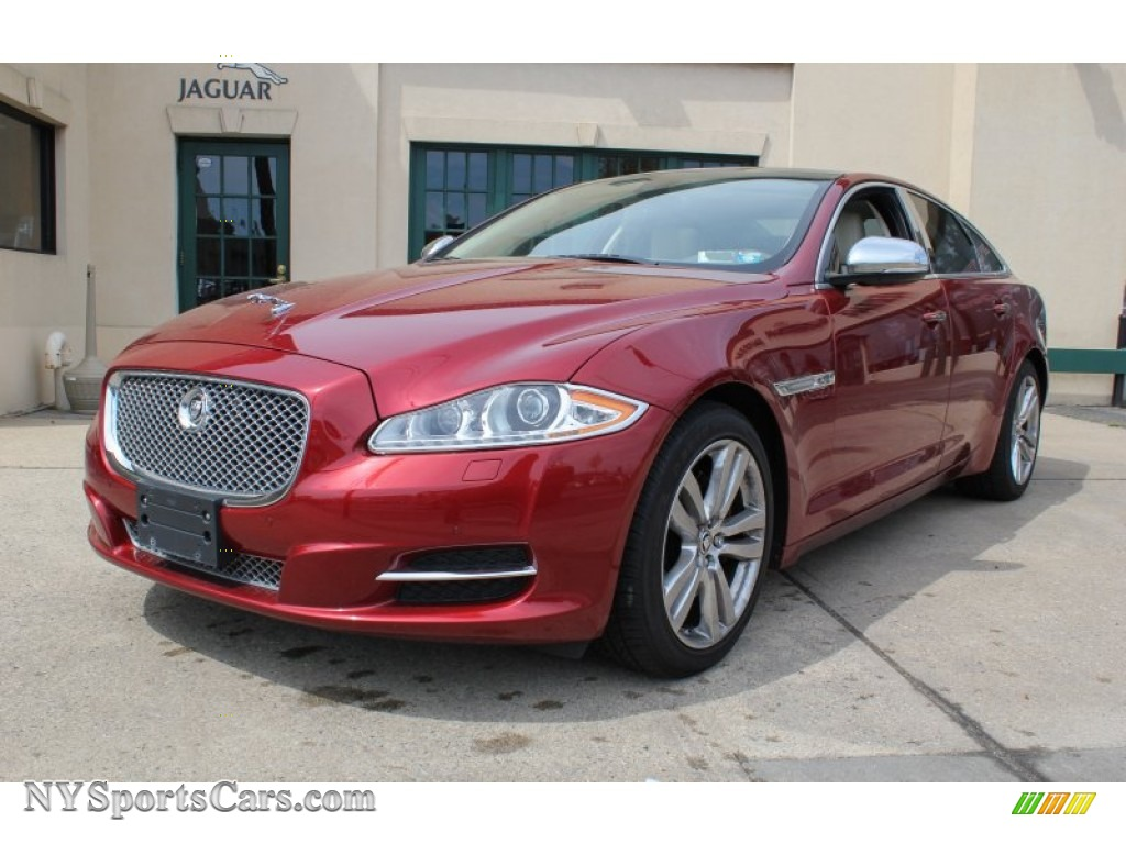 2012 Jaguar Xj Xj In Italian Racing Red Metallic V23409