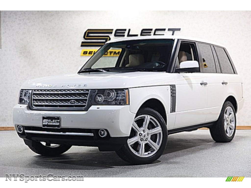 2010 land rover range rover supercharged autobiography in alaska white photo 5 309350. Black Bedroom Furniture Sets. Home Design Ideas