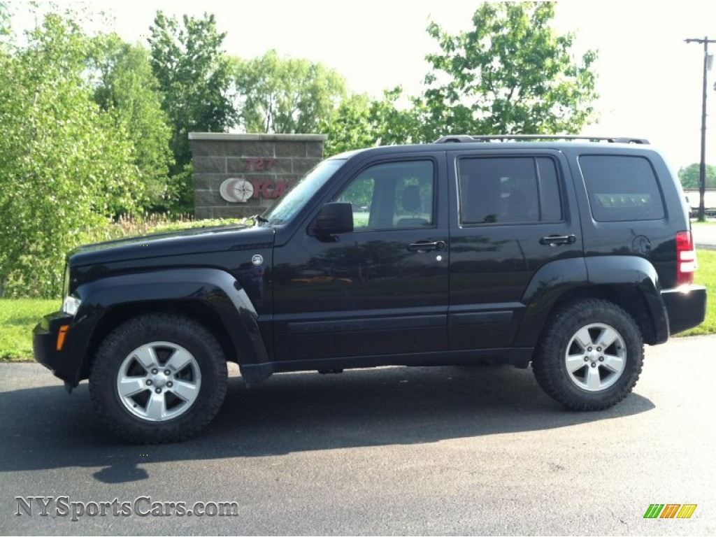 2011 Jeep Liberty Sport 4x4 In Dark Charcoal Pearl