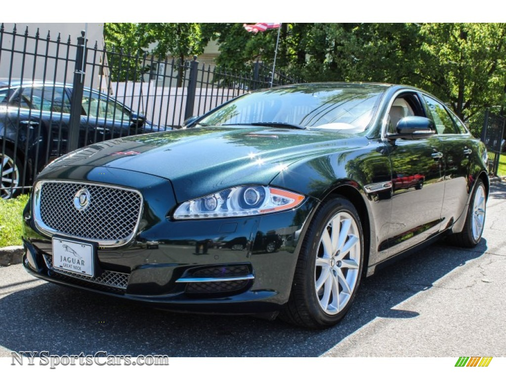 2011 Jaguar Xj Xj In Botanical Green Metallic V18241 Nysportscars Com Cars For Sale In New