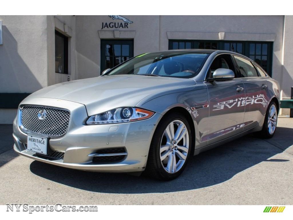 2011 jaguar xj xjl in cashmere metallic v21086 cars for sale in new york. Black Bedroom Furniture Sets. Home Design Ideas