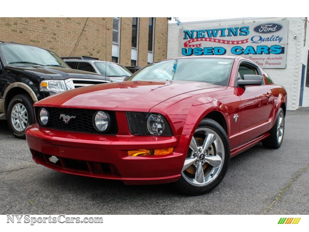 2015 Ford Mustang Candy Apple Red Car Interior Design