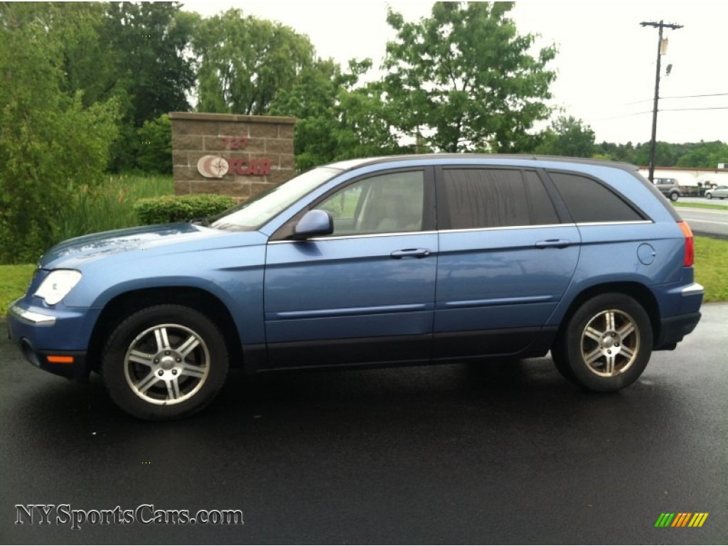 2007 chrysler pacifica touring in marine blue pearl. Black Bedroom Furniture Sets. Home Design Ideas