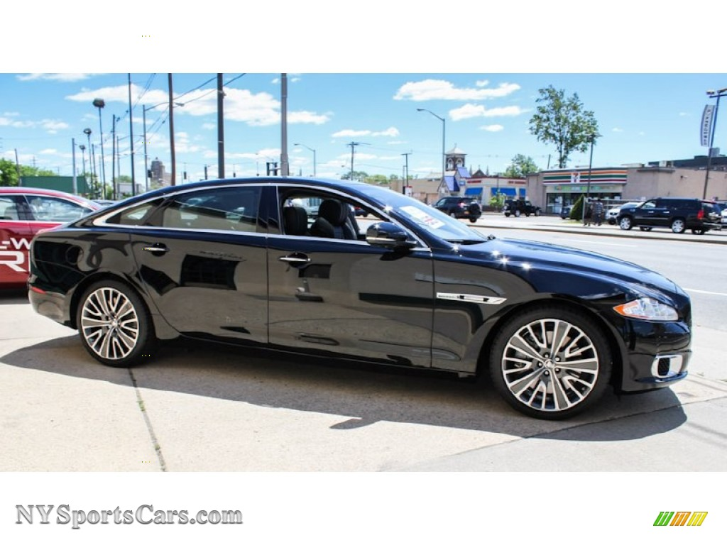 2013 Jaguar Xj Xjl Ultimate In Ebony Black Photo 8