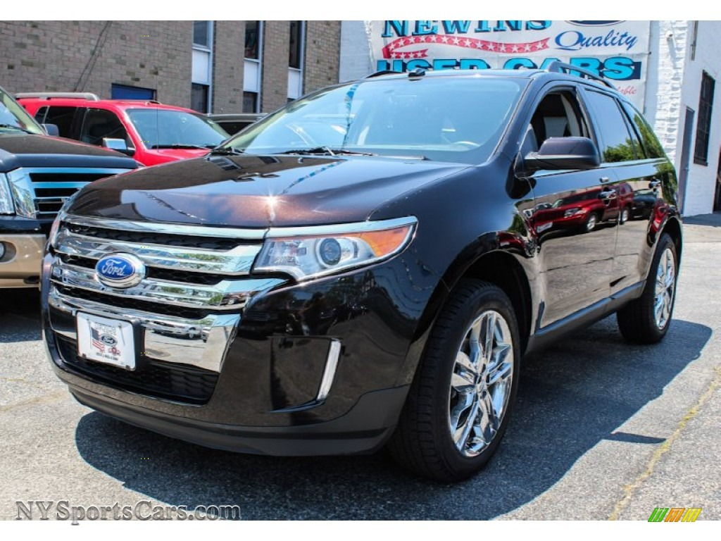 2013 ford edge limited awd in kodiak brown metallic a41548 cars for sale. Black Bedroom Furniture Sets. Home Design Ideas