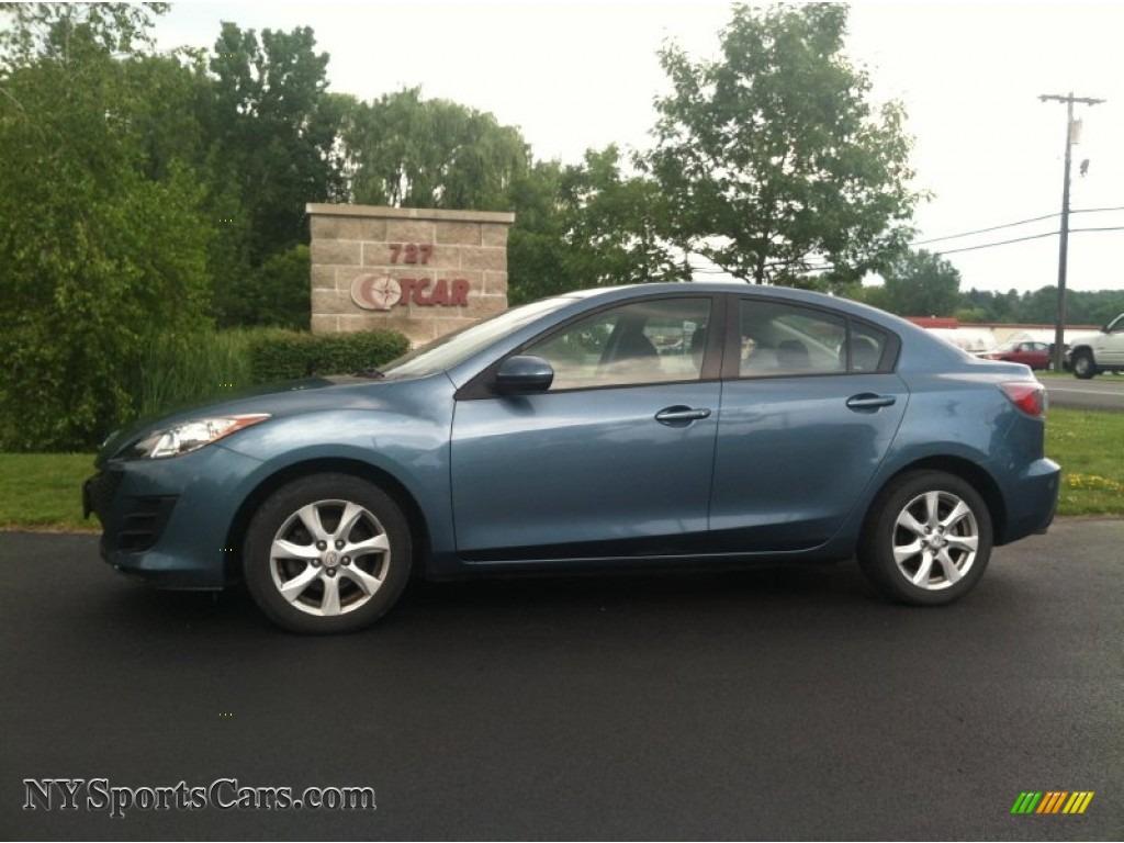 2010 mazda mazda3 i sport 4 door in gunmetal blue mica 170647 cars for. Black Bedroom Furniture Sets. Home Design Ideas