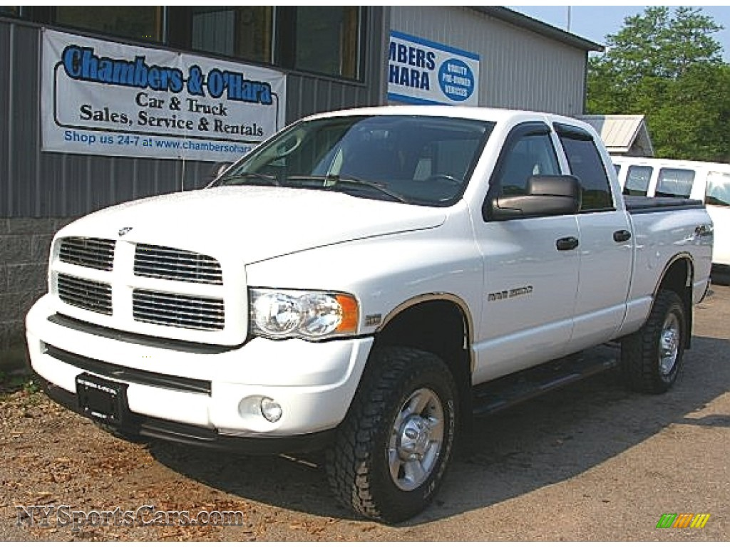 2003 dodge ram 2500 slt quad cab 4x4 in bright white. Black Bedroom Furniture Sets. Home Design Ideas