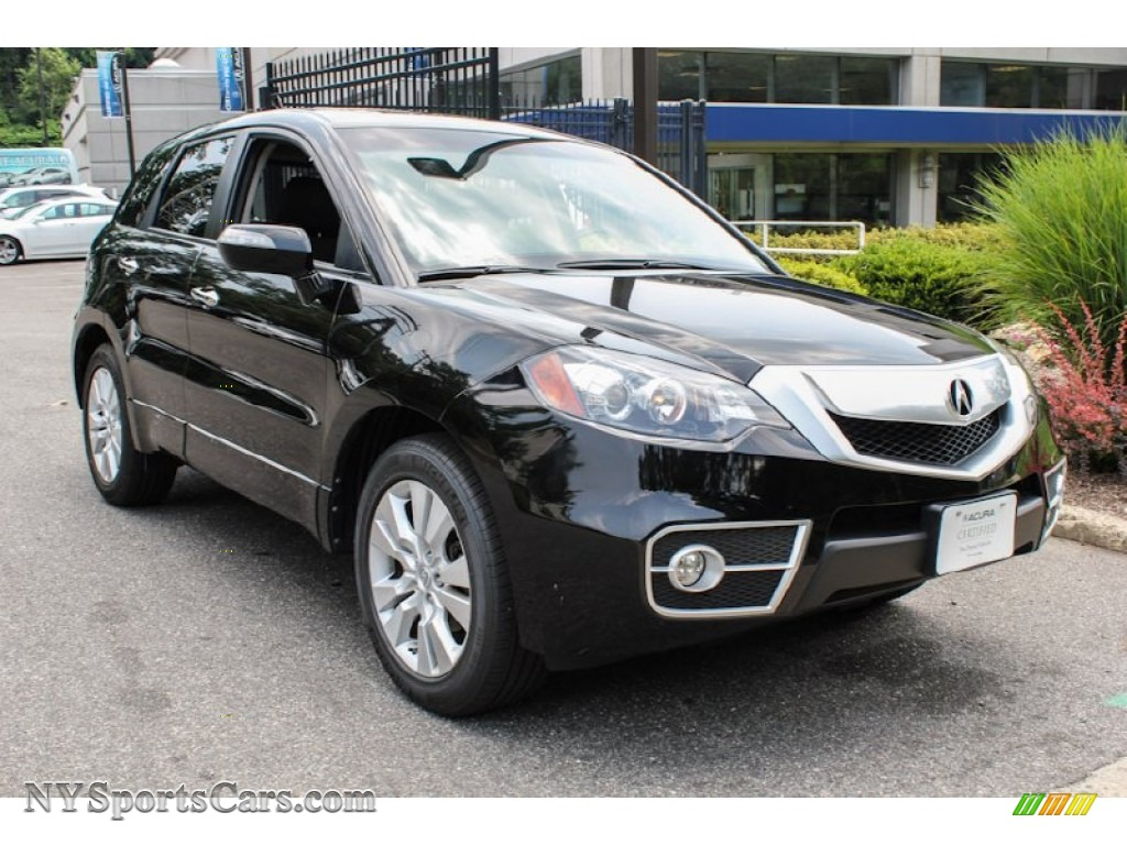 2010 acura rdx sh awd in crystal black pearl 008007 cars for sale in new york. Black Bedroom Furniture Sets. Home Design Ideas