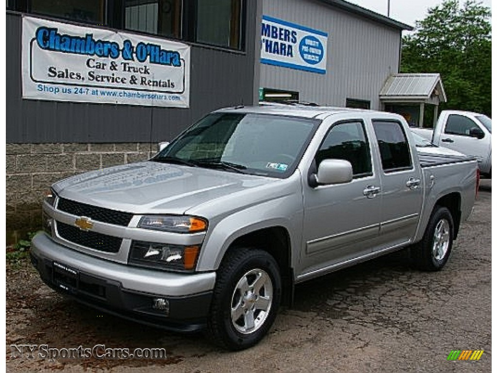 2010 chevrolet colorado lt crew cab in sheer silver. Black Bedroom Furniture Sets. Home Design Ideas