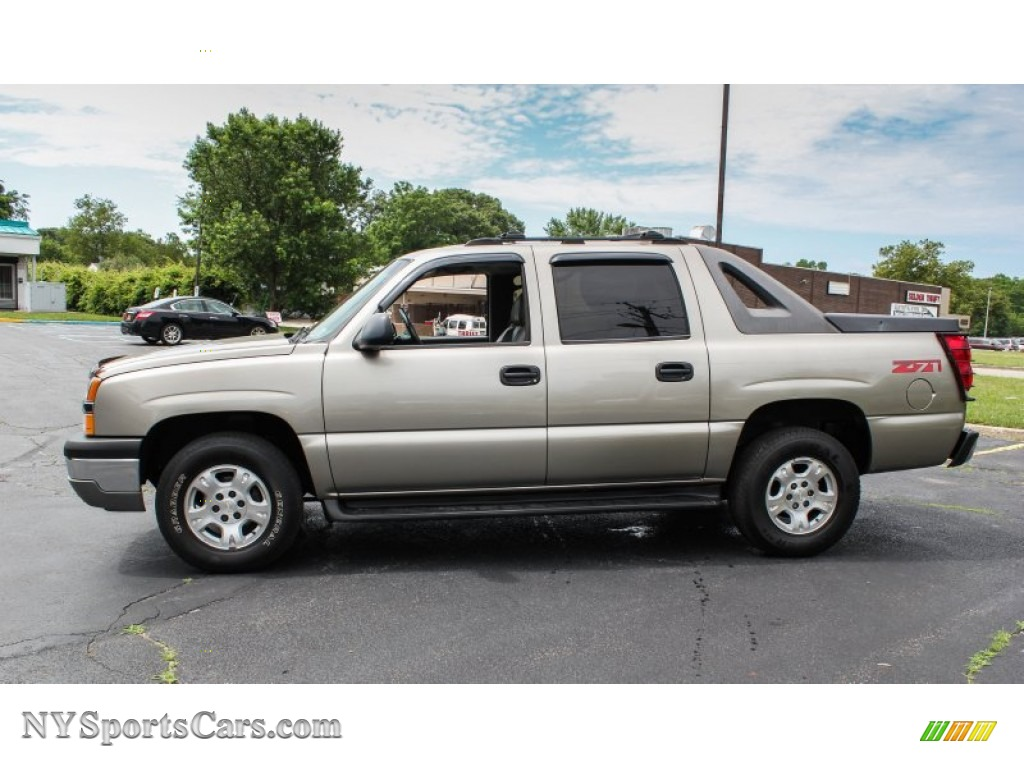 2003 chevrolet avalanche 1500 z71 4x4 in light pewter. Black Bedroom Furniture Sets. Home Design Ideas