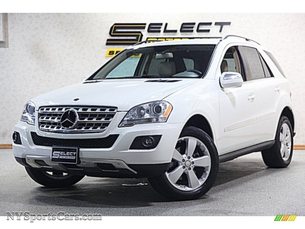 2010 mercedes benz ml 350 4matic in arctic white 592982 cars for sale in. Black Bedroom Furniture Sets. Home Design Ideas