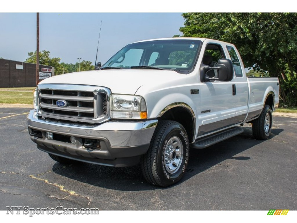 2002 f250 super duty xl supercab 4x4 oxford white medium flint photo 1