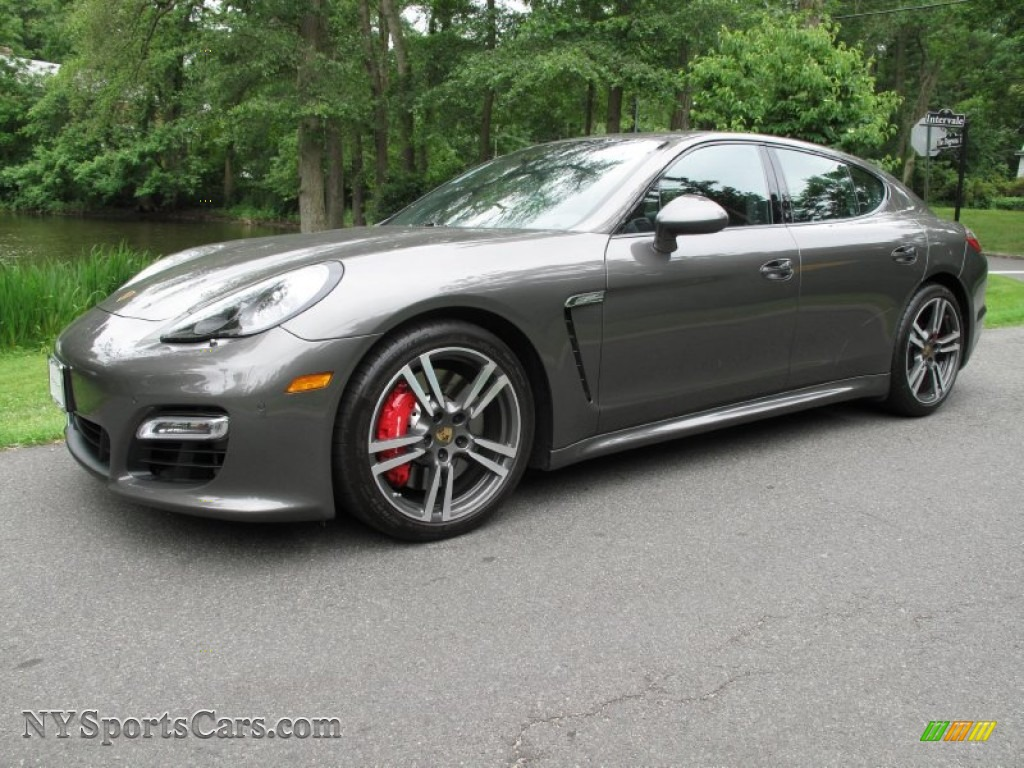 2013 Porsche Panamera Gts In Agate Grey Metallic Photo 16