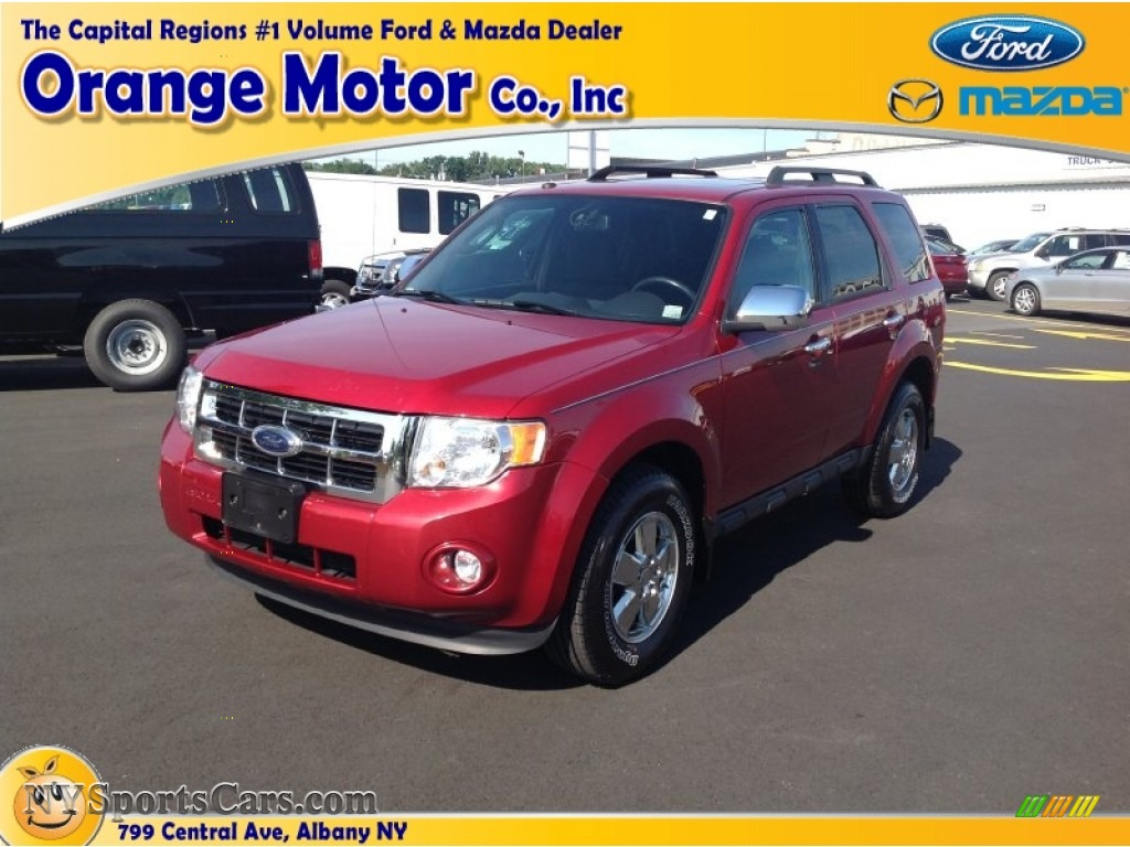 2009 ford escape xlt 4wd in sangria red metallic photo 5 for Orange motors albany new york