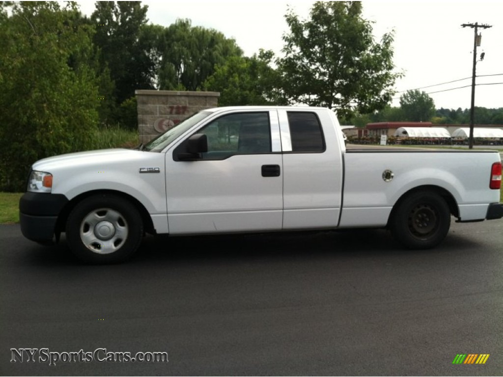 2007 Ford F150 Xl Supercab In Oxford White A37292