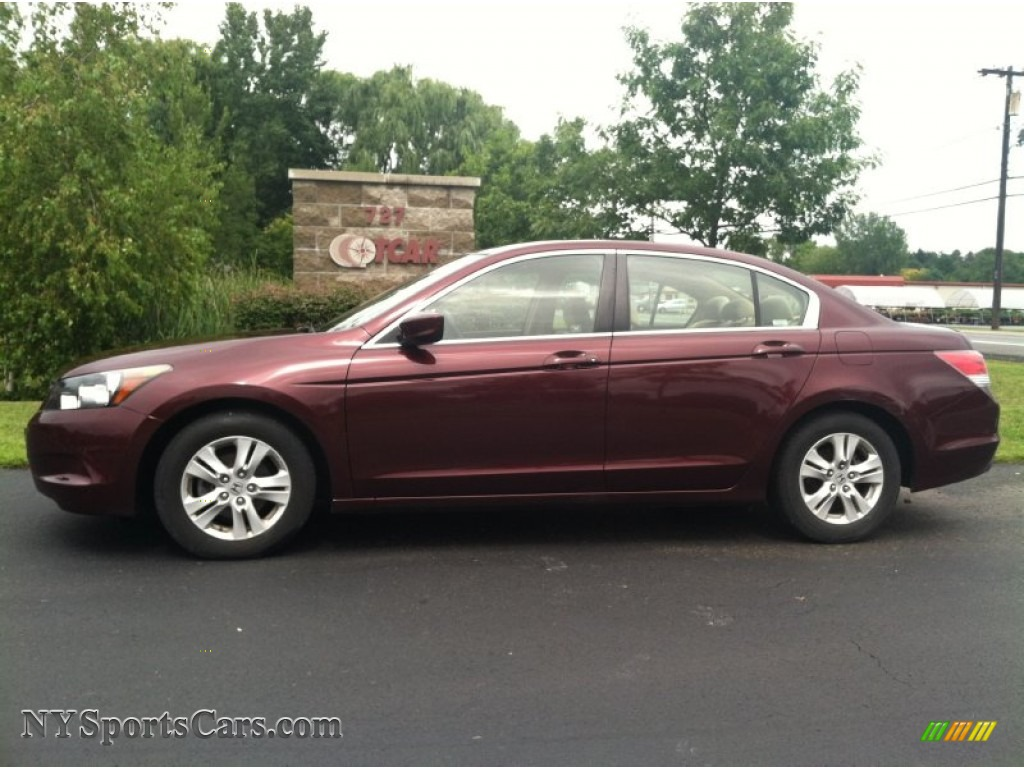 2008 honda accord lx p sedan in basque red pearl 072642 cars for sale in. Black Bedroom Furniture Sets. Home Design Ideas