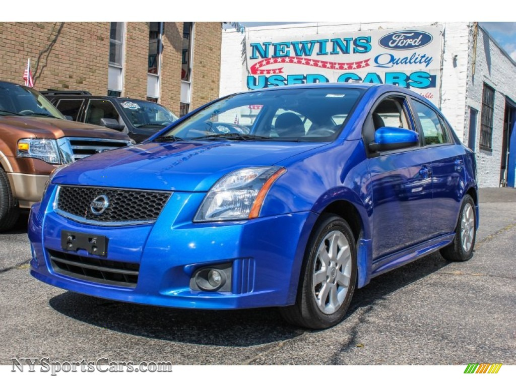 2010 nissan sentra 2 0 sr in blue metallic 686457 cars for sale in new york. Black Bedroom Furniture Sets. Home Design Ideas