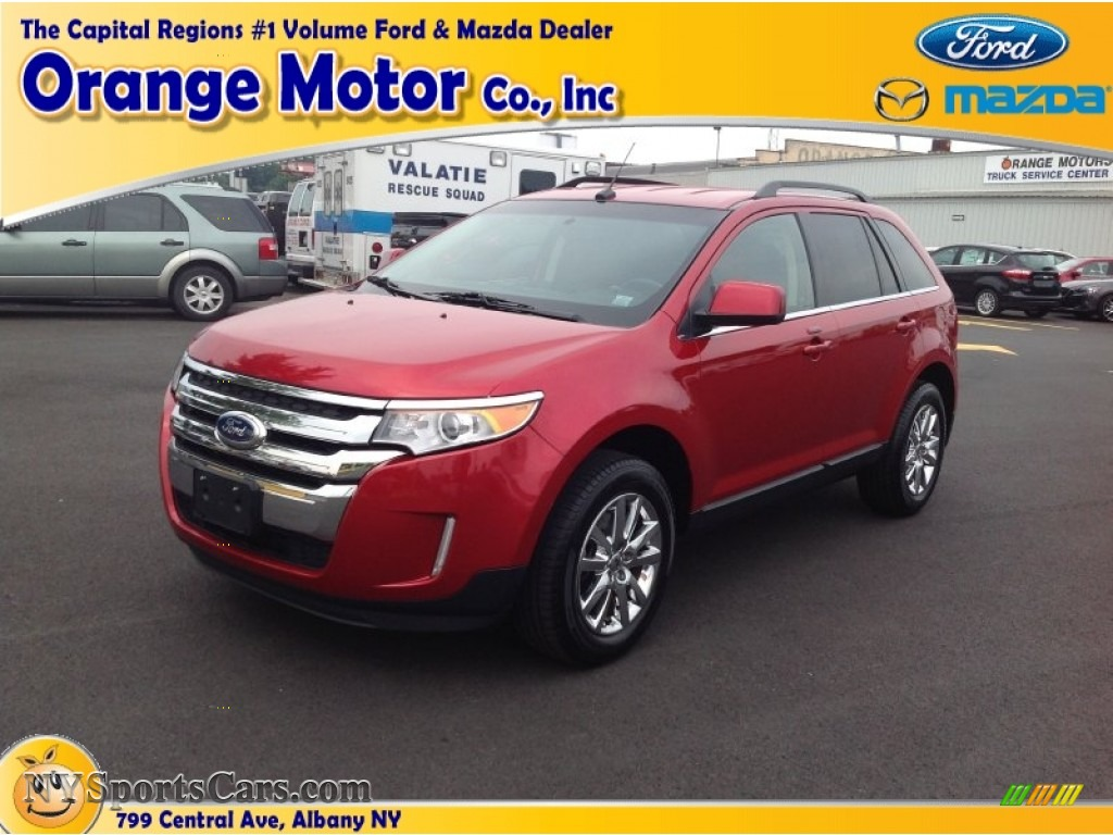 2011 ford edge limited awd in red candy metallic photo 13 for Orange motors albany new york