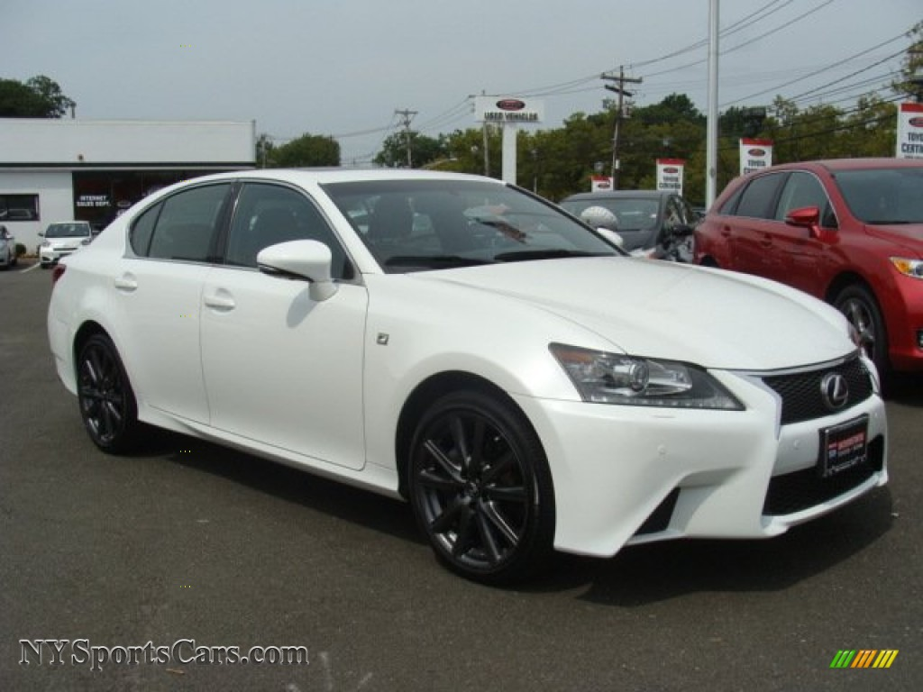 2013 lexus gs 350 awd f sport in starfire white pearl photo 3 002440. Black Bedroom Furniture Sets. Home Design Ideas