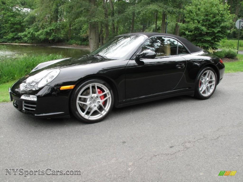 Worksheet. 2009 Porsche 911 Carrera 4S Cabriolet in Black  756165