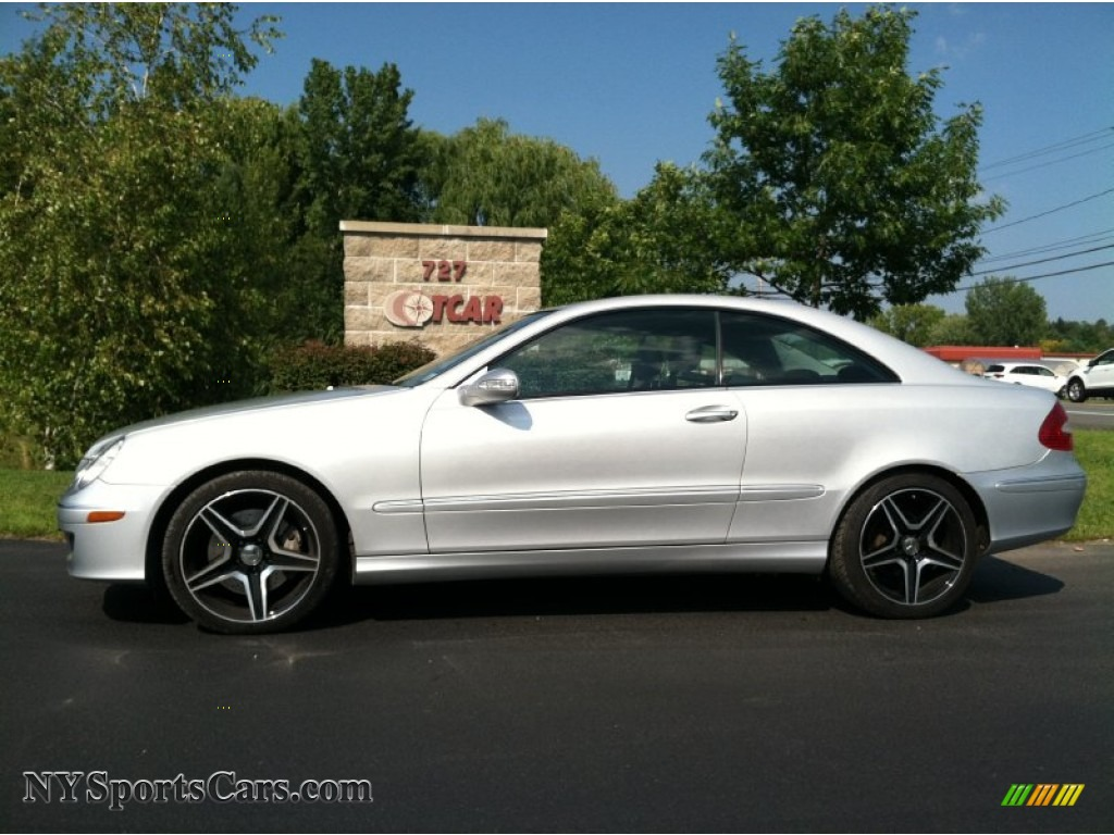 2009 mercedes benz clk 350 coupe in iridium silver for Mercedes benz clk 2009