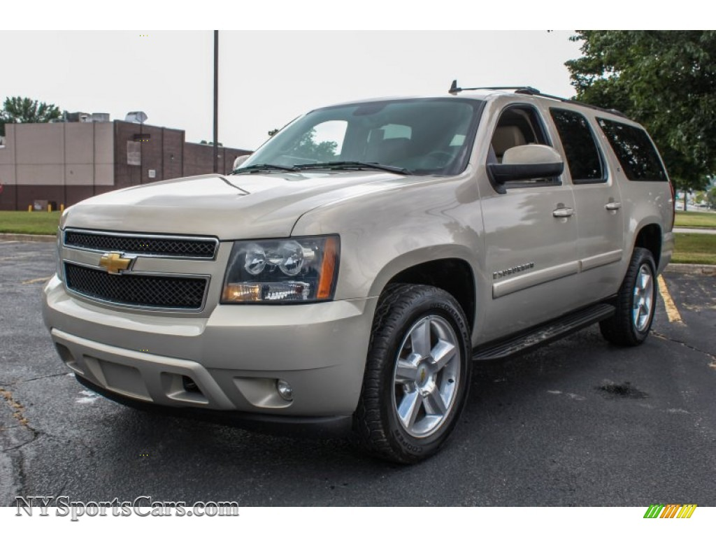 2007 chevrolet suburban 1500 lt 4x4 in gold mist metallic. Black Bedroom Furniture Sets. Home Design Ideas