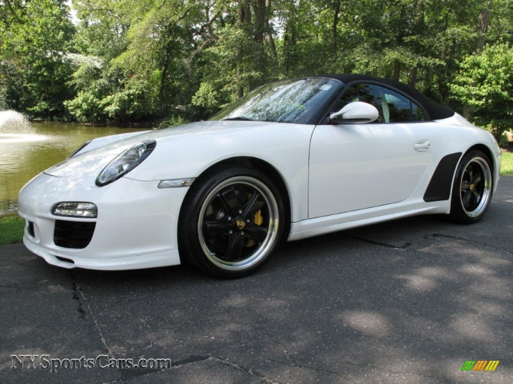 2011 Porsche 911 Speedster In Carrara White 795613