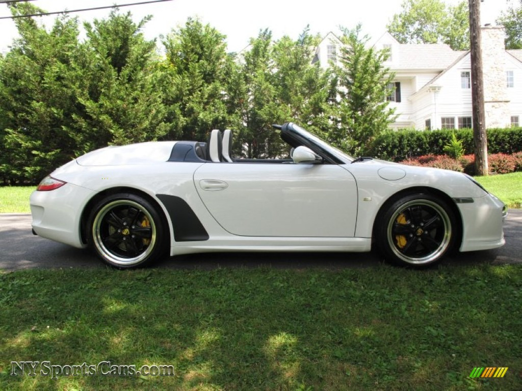 2011 Porsche 911 Speedster In Carrara White Photo 7