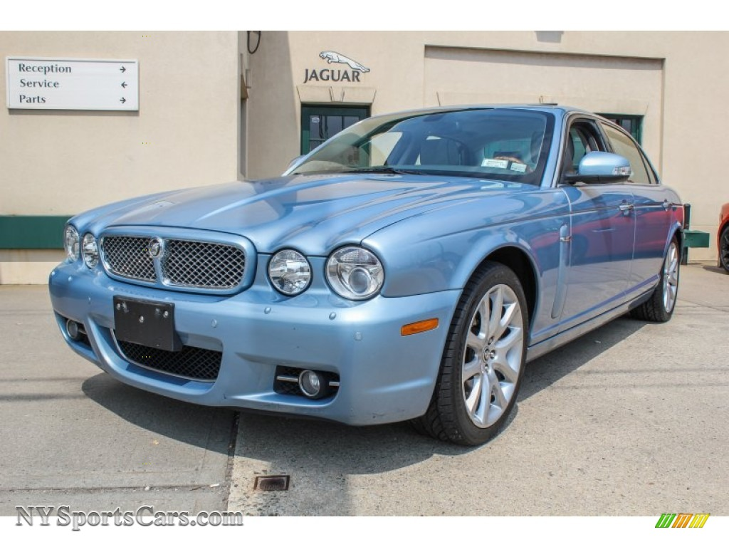 2008 Jaguar Xj Xj8 L In Frost Blue Metallic H21567