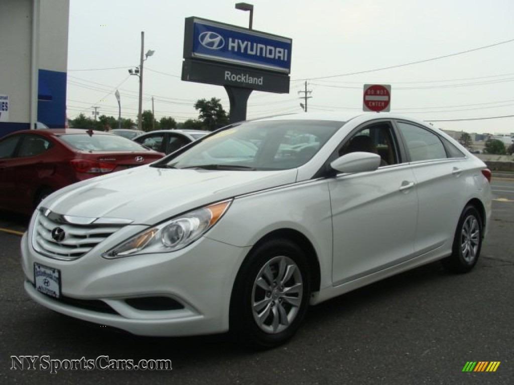 2011 Hyundai Sonata Se Pearl White Cadillac