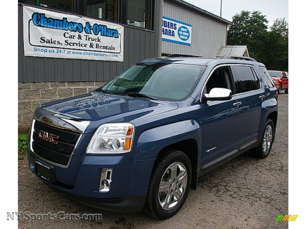 2012 Gmc Terrain Sle Awd In Steel Blue Metallic 195250