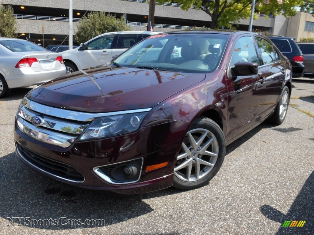 2011 Ford Fusion Sel V6 In Bordeaux Reserve Metallic