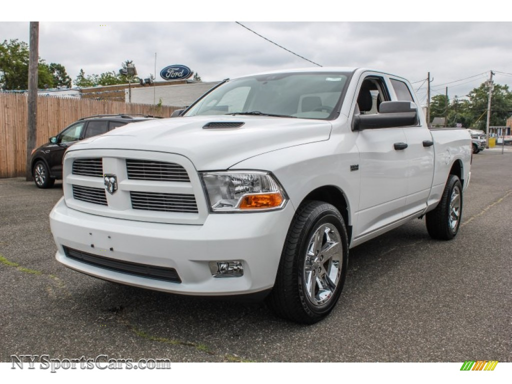 2012 dodge ram 1500 st quad cab 4x4 in bright white 184115. Black Bedroom Furniture Sets. Home Design Ideas