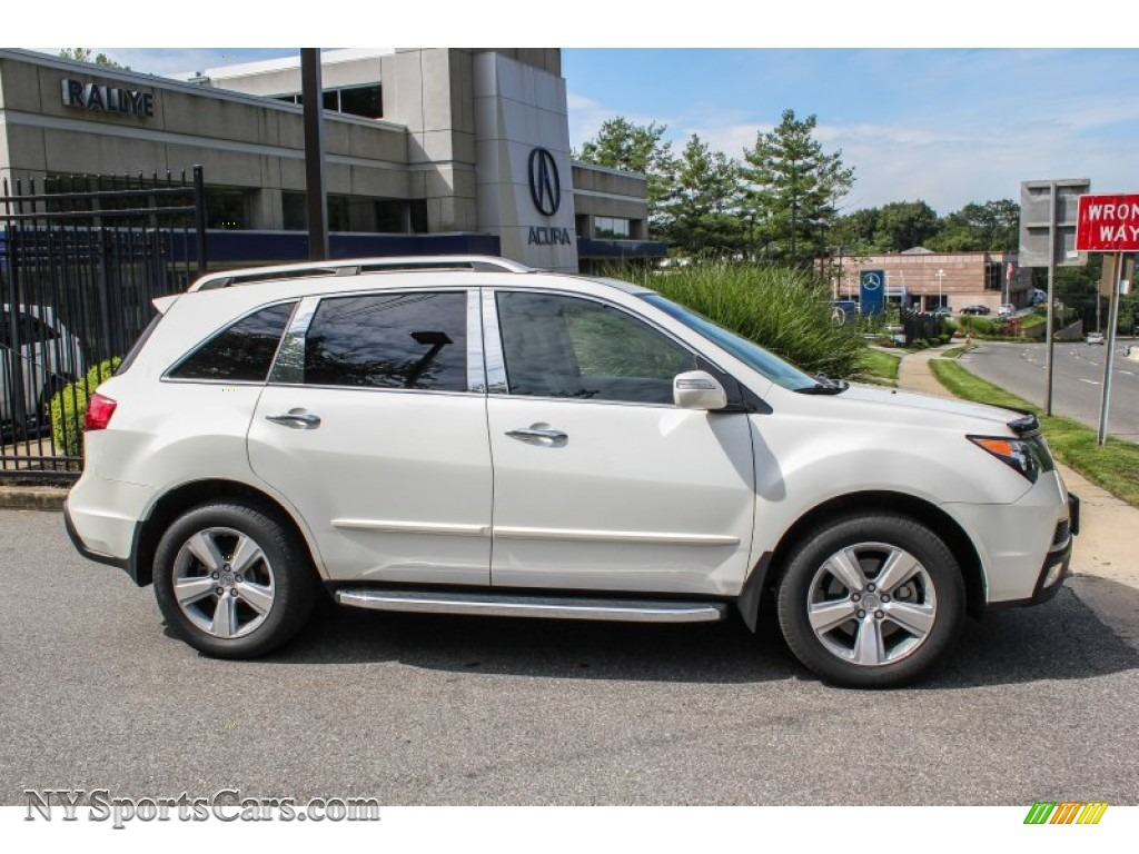 2011 acura mdx technology in aspen white pearl photo 3. Black Bedroom Furniture Sets. Home Design Ideas
