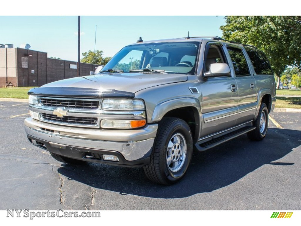 Light pewter metallic gray dark charcoal chevrolet suburban 1500 lt 4x4