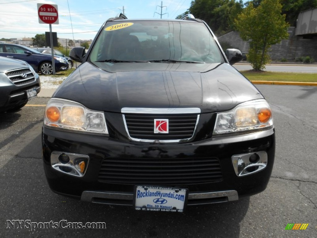 2006 VUE V6 AWD - Black Onyx / Gray photo #2