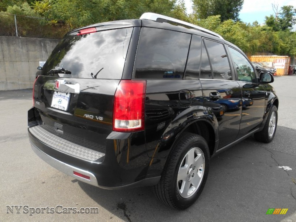 2006 VUE V6 AWD - Black Onyx / Gray photo #4