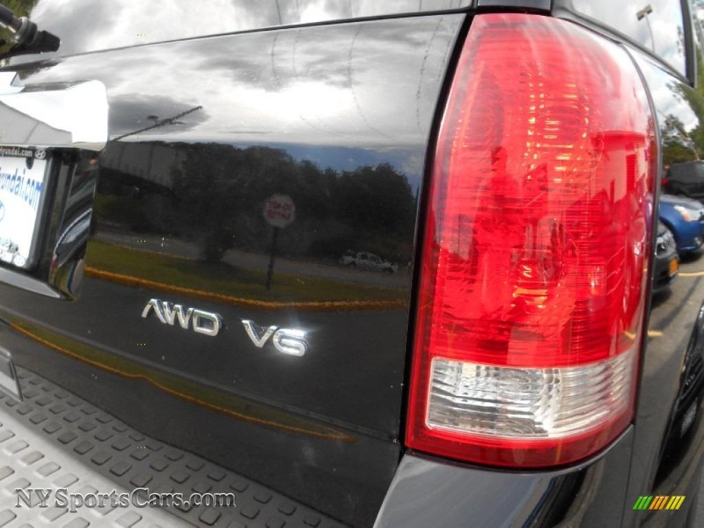 2006 VUE V6 AWD - Black Onyx / Gray photo #20